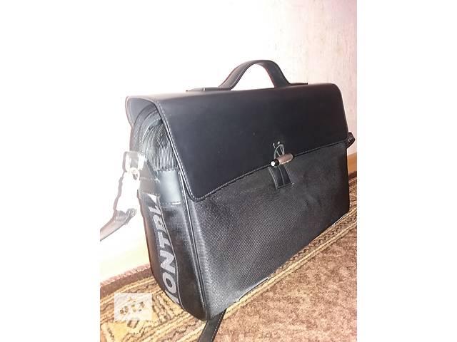купить бу кожаный портфель - оригинал! MontBlank Германия. в Одессе