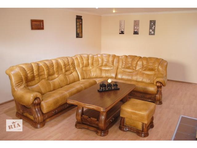 продам Кожаный угловой диван Cheverny Тм Pyka бу в Киеве