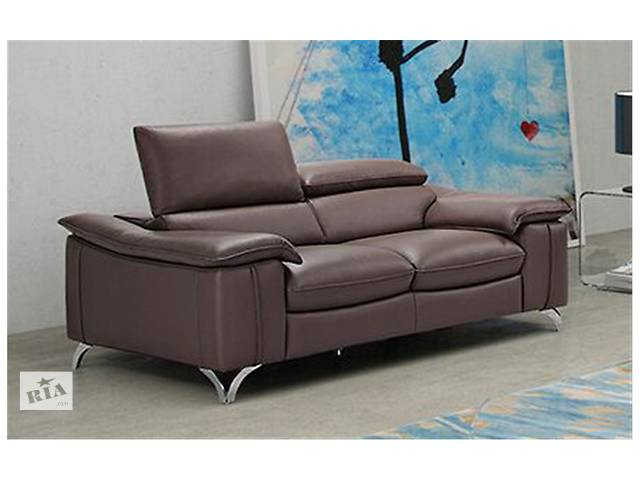 купить бу Кожаный угловой диван хай-тек,Кожаный комплект диван и кресла Fino в Дрогобыче
