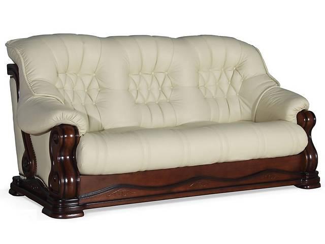 продам Кожаный уголок, диван и кресла на дубе, угловой диван + 2 кресла на дубе,кожаная мебель бу в Дрогобыче