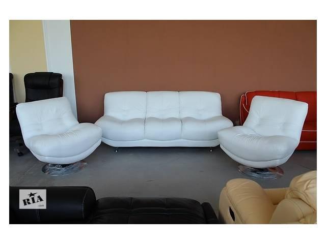 бу Комплект кожаной мебели (диван+кресла) R-2515 в Одессе