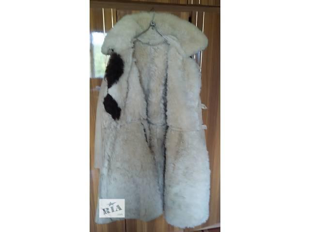 кожух белий красивый теплый согреет любые косточки- объявление о продаже  в Кременчуге