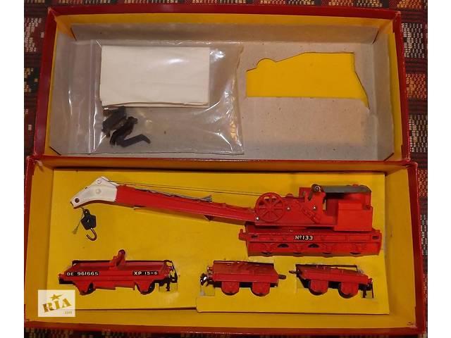 продам Кран 75т Boxed Breakdown Crane -1:87(HO)/00 16.5мм бу в Киеве