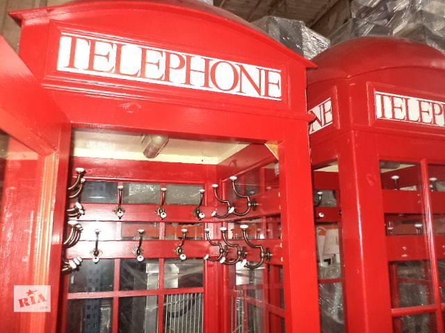 Красная телефонная будка  б/у в хорошем состоянии..- объявление о продаже  в Киеве