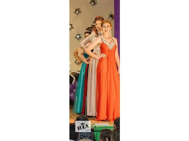 Красное вечернее платье в идеальном состоянии - объявление о продаже  в Харькове