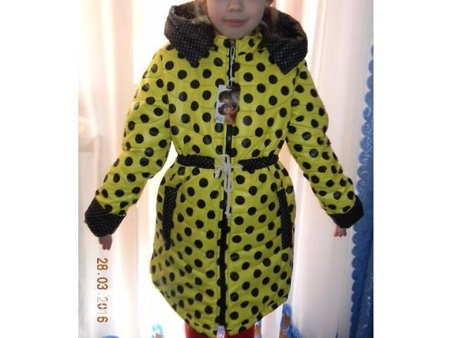 продам Красивая Куртка-Плащ Демисезонная На Девочку бу в Николаеве