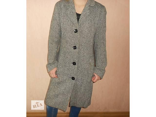 купить бу Красивое демисезонное пальто, размер 44-46, бренд Suns House, шерстяное в Николаеве