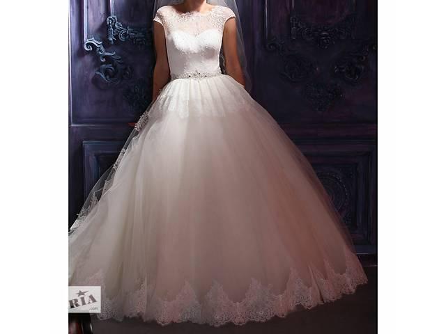 бу Красивое свадебное платье в Днепре (Днепропетровск)