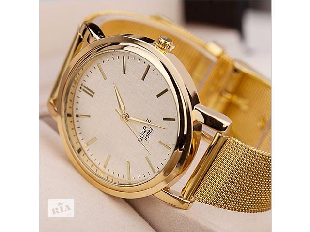 продам Красивые женские часы, CALVIN KLEIN style Золотой бу в Львове
