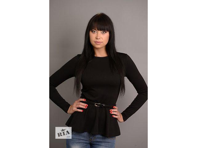 бу Красивый и нарядный свитер - блуза  S  Черный в Стрые