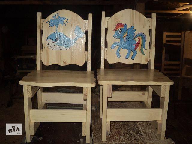 купить бу кресла,стульчики ,любой высоты,и с любым рисунком для ваших деток в Киеве