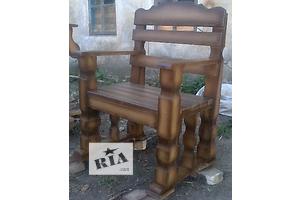 Кресла садовые деревянные