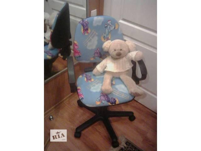 купить бу Кресло компьютерное детское. в Запорожье