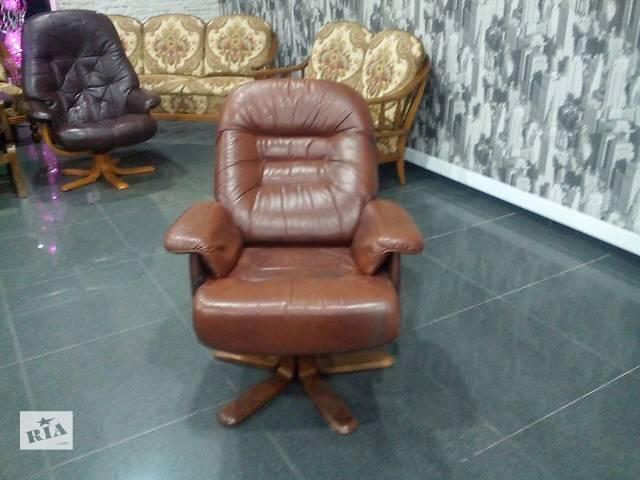 кресло кожаное- объявление о продаже  в Измаиле