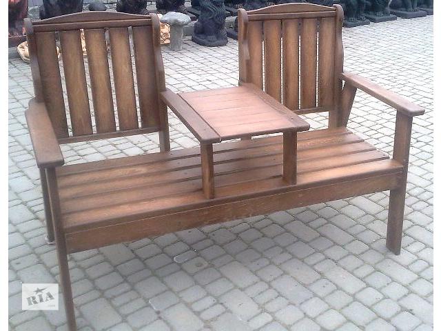 купить бу Кресло стол из массива дуба. в Виннице
