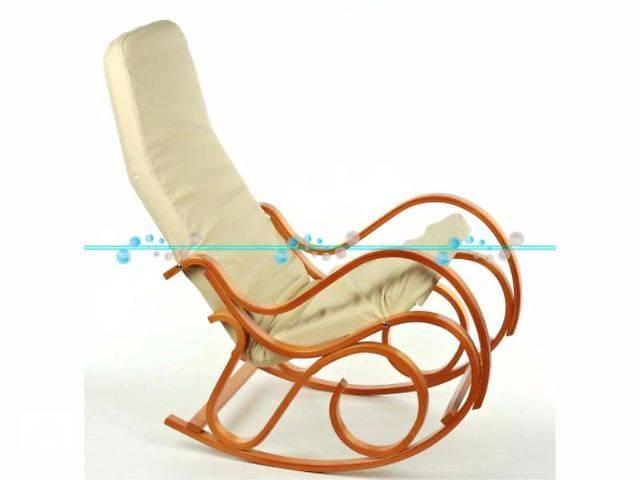 бу Кресло-качалка Calviano (бежевое) в Тернополе