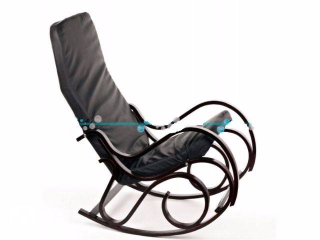 Кресло качалка Calviano (черный) новые. Есть в наличии!- объявление о продаже  в Тернополе