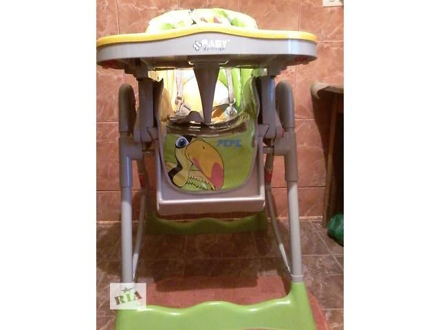 продам Крісло для годування .Стільчик.фірма Baby Design Pepe.Вік 6 міс до 3 р  б у бу в Львове