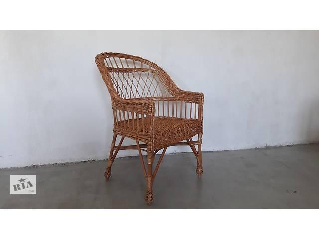 купить бу Кресло из лозы в Львове