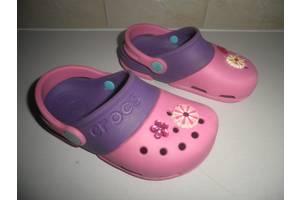 б/у Детские кроксы Crocs