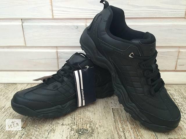 Кросівки шкіряні Starter кроссовки кожаные черные чорні 44 - 45 размер- объявление о продаже  в Черкассах