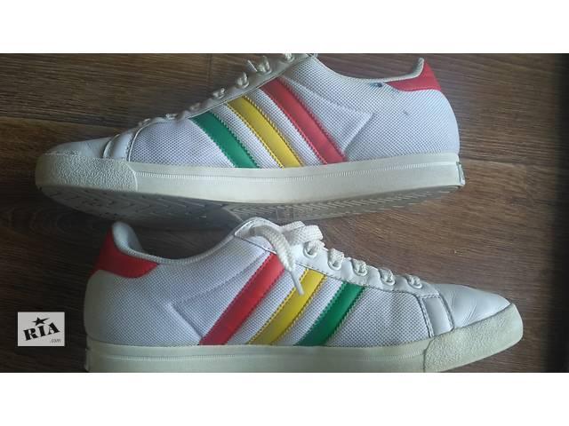 продам Кроссовки Adidas р.42(8) кожа бу в Виннице
