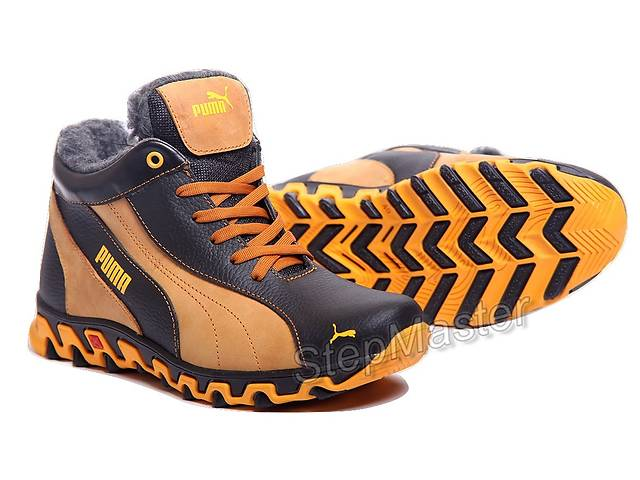 продам Кроссовки кожаные зимние Puma Track II бу в Вознесенске