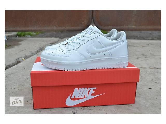 купить бу Кроссовки Nike Air Force низкие белые, черные - Без предоплаты  в Черновцах