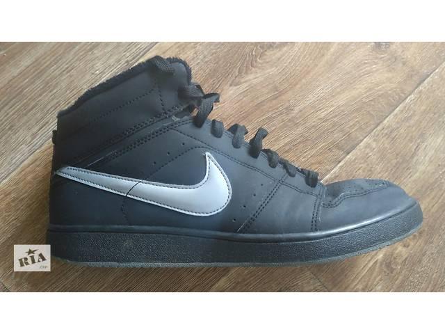 бу Кроссовки Nike (высокие) р.44(9) чёрные классика India отличное сост. в Виннице