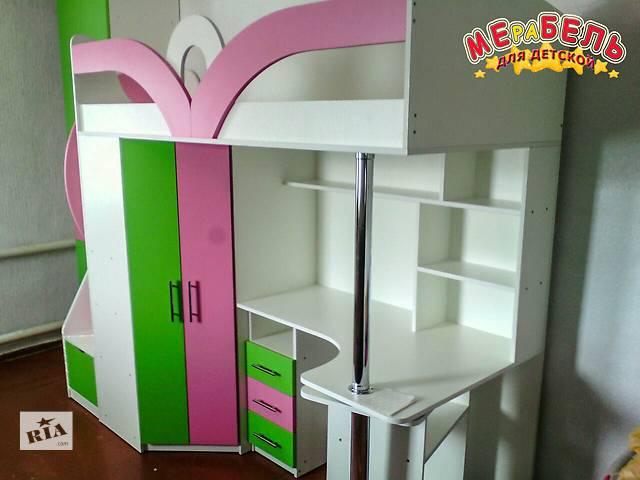 продам Кровать-чердак (кл6-4) Merabel бу в Харькове
