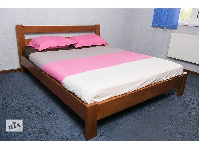 продам Кровать деревянная 1.6 *2.0 м Яблоня и 0.8*2.0 м бу в Киеве