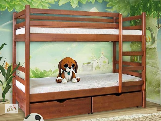 Кровать Детская 2-х ярусная Кенгуру- объявление о продаже  в Киеве