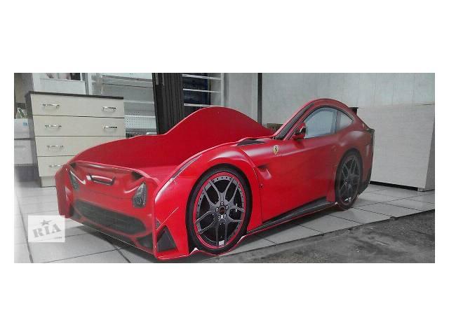 бу Кровать детская спортивная машина Ferrari красная в Кривом Роге