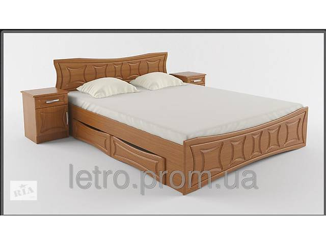 продам Кровать Двухспальная Созвездие с ящиками бу в Червонограде