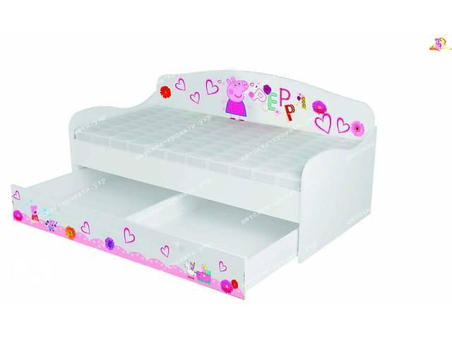купить бу Кровать Диванчик Свинка пепа+ ящик!! в Львове