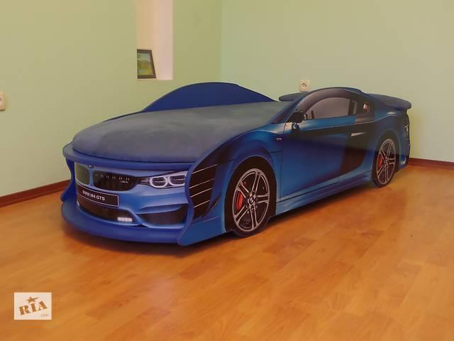 продам Кровать машина BMW синяя бу в Кременчуге