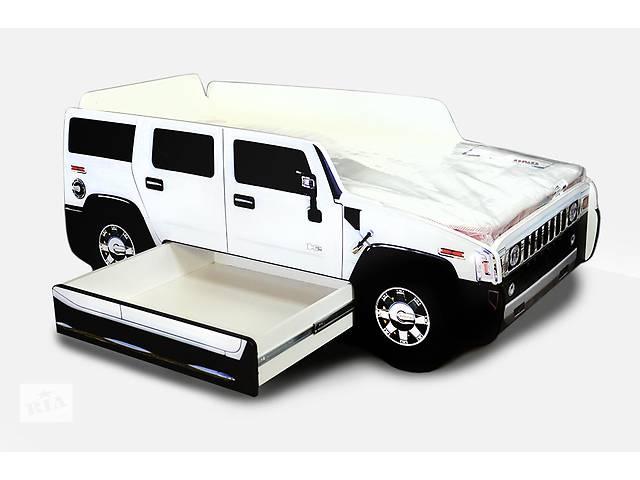 продам Кровать-машина Hummer (МДФ) бу в Киеве