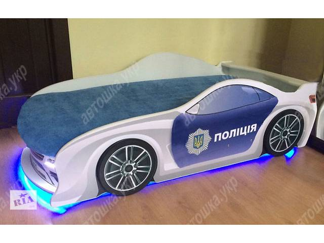 бу Кровать машина Полиция +Подарок! в Львове