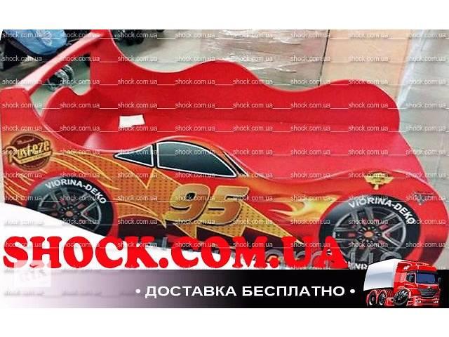 продам Кровать машина Тачки, Акция + Бесплатная доставка под подъезд! бу в Борисполе