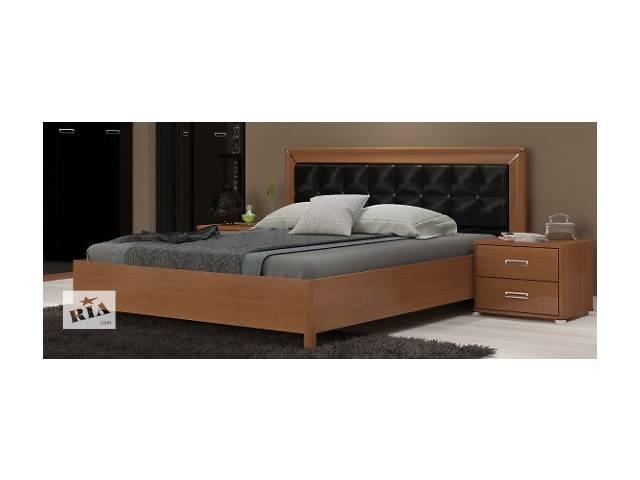 """Кровать с подъемным механизмом и мягким изголовьем """"Белла"""" 180x200 MiroMark"""