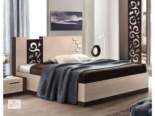 бу Кровать Сага 200x180 с ламелями в Мариуполе