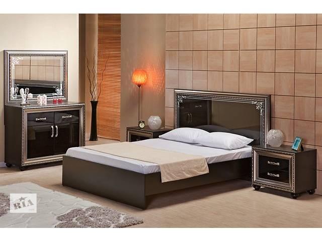 продам Кровать 2-сп Embawood Элизабет (черная) |AM5988 бу в Киеве