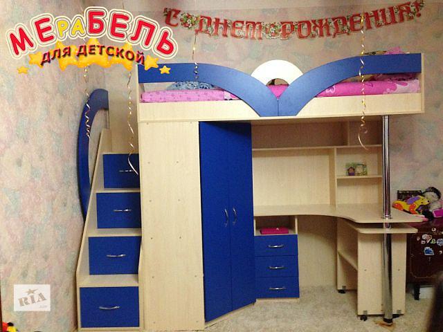 продам Кровать-чердак (кл6) Merabel бу в Харькове