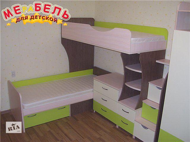 продам Кровать детская двухъярусная (ал6) Merabel бу в Харькове