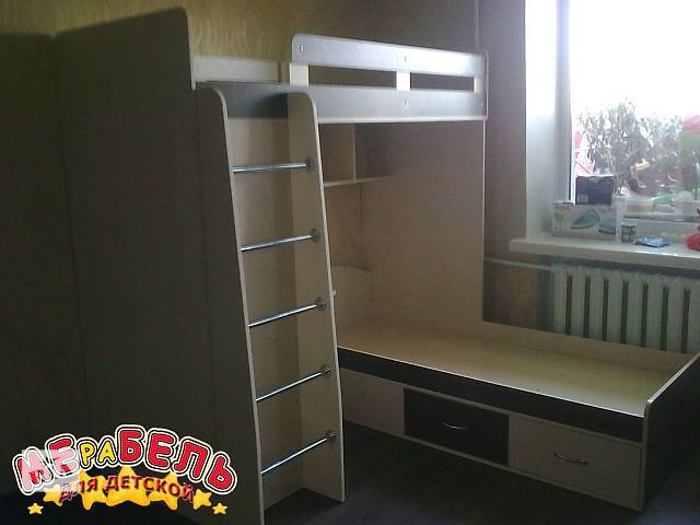 купить бу Кровать двухъярусная (а3) Merabel в Харькове