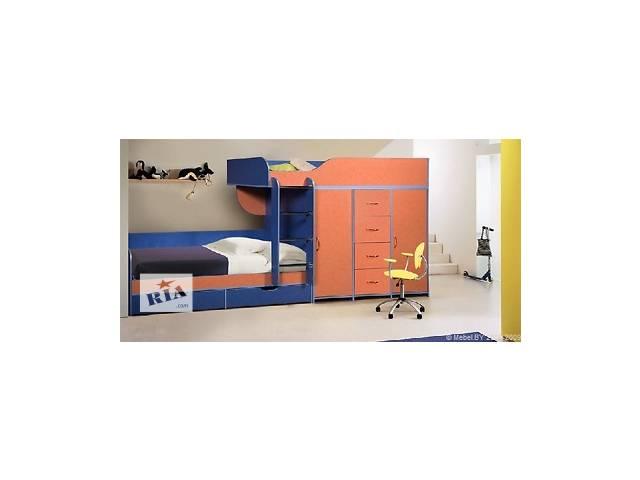 купить бу Кровать двухъярусная (а8) Merabel в Харькове