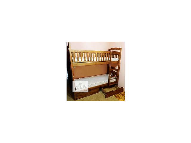 """Кровать двухъярусная """"Карина СП"""" (со съемными перегородками), есть на складе, с удобной лестницей (горизонтальные ступен- объявление о продаже  в Одессе"""