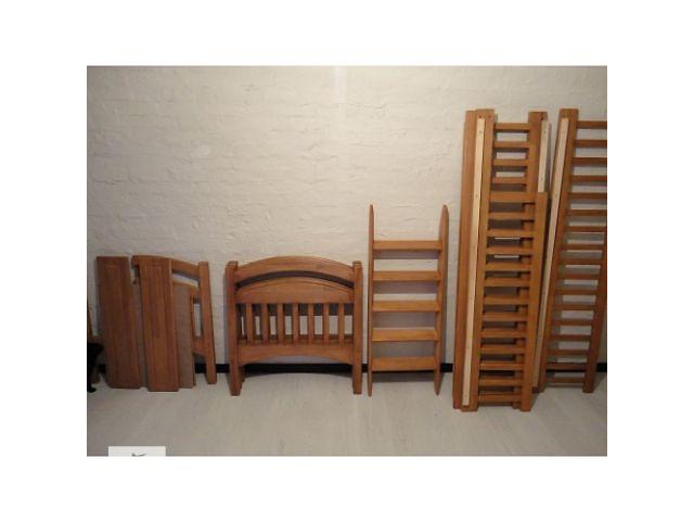 """купить бу Кровать двухъярусная """"Карина СП"""" (со съемными перегородками), есть на складе, с удобной лестницей (горизонтальные ступен в Одессе"""