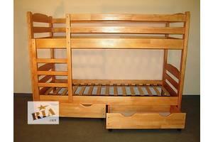 Кровать двухъярусная из масива дерева