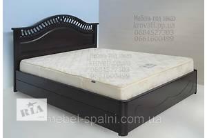 Кровать двуспальная с подъёмным механизмом деревянная «Глория»